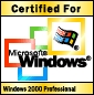 Certified for Windows 2000 Professional